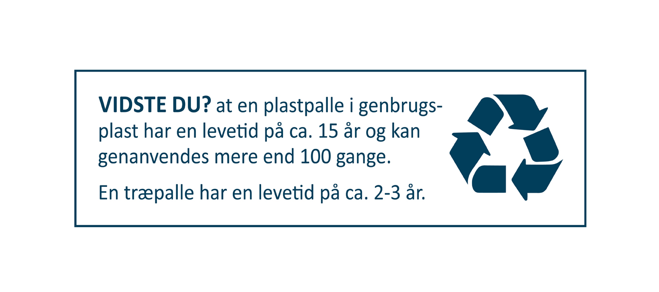 Genanvendelse plastpalle Nordic Palletwash